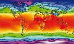 Учёные создали карту распространения CoViD-19 в зависимости от климата