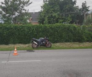 В Ставропольском районе мотоциклист сбил девочку
