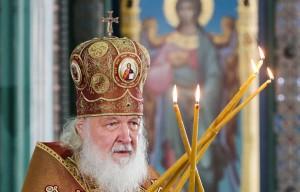 Ранее патриарх освятил храм.