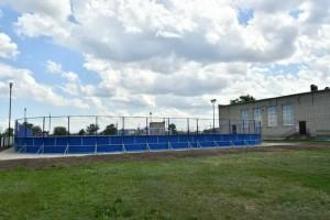 В Безенчуке завершено строительство двух спортивных площадок
