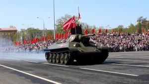 На территории ЦВО спланировано проведение военных парадов только в городах Екатеринбурге, Новосибирске и Самаре.