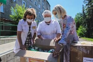 Ранее партия СИЗов была передана на станцию скорой медицинской помощи в Тольятти.