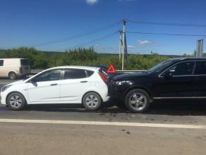 Два человека пострадали в столкновении нескольких автомобилей в Самаре