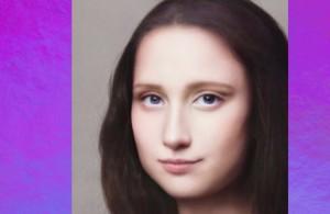 """Современный образ также обрела """"Девушка с жемчужной серёжкой"""" Яна Вермеера."""