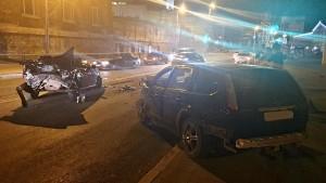 В ДТП по Волжском проспекте в Самаре пострадали трое