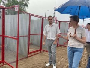 Строительство питомника практически завершено, просторные вольеры для собак и кошек будут готовы принять первых постояльцев уже этим летом.