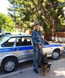 В Жигулевске служебная собака взяла след подозреваемого в краже