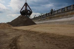 Завозить песок на пляжи планируется с 20 июня – работы стартуют с I очереди набережной Волги.