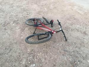 В Самарской области пьяный велосипедист врезался в иномарку