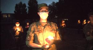 Правнуки фронтовиков в Самаре зажгли свечи в память о погибших в Великой Отечественной войне