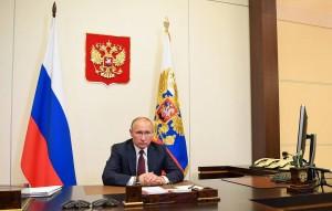 Владимир Путин провел совещание с представителями нескольких отраслей экономики, противостоящих распространению коронавируса.