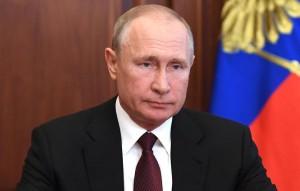 По словам президента, российское общество не растерялось перед угрозой коронавируса и нашло ответ на вызов.