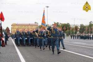 Личный состав Главного управления принял участие в юбилейном параде Победы