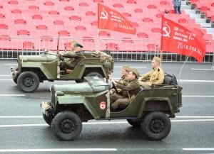 В Самарской области прошел военный парад в честь 75-летия Победы в Великой Отечественной войне: ФОТО