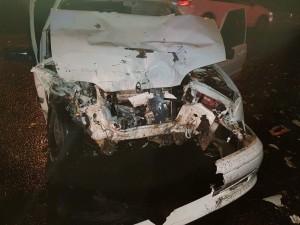 В Самаре в ночном ДТП пострадал молодой человек