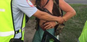 В Тольятти задержали вооруженного пьяного водителя