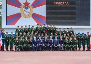 39 спортсменов-военнослужащих пополнили спортивную роту ЦСКА/Самара