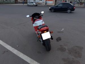 В Самаре мотоциклист сбил женщину