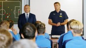 """Андрей Талалаев провел первую тренировку в """"Крыльях""""."""