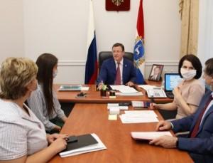 Губернатор Дмитрий Азаров провел личный прием граждан