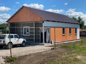 Фельдшерско-акушерский пункт будет обслуживать более 450 жителей.