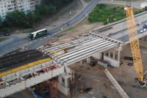 У Жигулевской ГЭС соединили две части трехуровневой развязки Предполагается, что благодаря эстакаде пробок станет меньше.