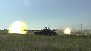 По замыслу практических действий, танкистам предстояло прорвать укрепленную оборону и поразить как живую силу, так и тяжелую бронетехнику.