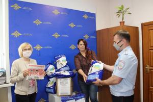 Полицейские Самарской области помогли приюту для животных