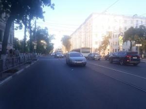 В Самаре молодой человек на иномарке сбил девушку-пешехода