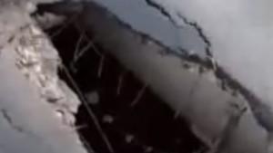 В Самарской области рухнул мост