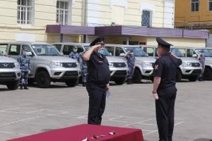 В Самарской области сотрудники Росгвардии получили новый служебный автотранспорт