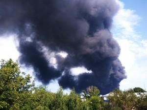 Глава областного МЧС назвал причину гигантского пожара на складах в Самаре