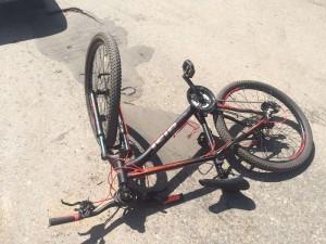 Тольяттинец сбил мальчика-велосипедиста