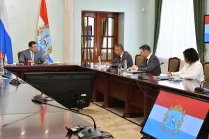 Стороны обсудили вопросы развития самарского предприятия и взаимодействия компании с Правительством региона.