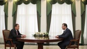 Полпред Игорь Комаров встретился с губернатором Самарской области