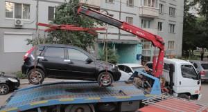 Был конфискован автомобиль Lada Kalina у жительницы Самары, накопившей около 300 тысяч рублей долга за отопление и горячее водоснабжение.