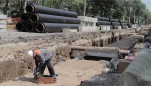 «На всех объектах, где есть техническая возможность сборки резервной схемы, для потребителей сохраняется горячее водоснабжение на весь период ремонта.»