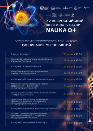 Фестиваль NAUKA 0+ стартует в Самаре
