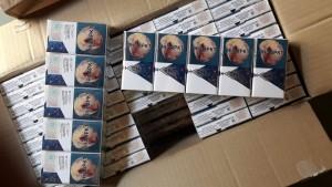 Самарские таможенники обнаружили в грузовом автомобиле 250 тыс. пачек сигарет без акцизных марок и маркировки