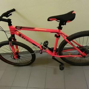 У доставщика еды в Самаре украли велосипед