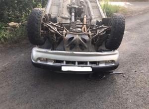 Смертельное ДТП в Самарской области: машина перевернулась в кювет