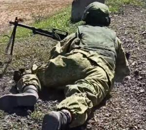 На полигоне Новая Бинарадка командиры групп проверили свои подразделения на слаженность.