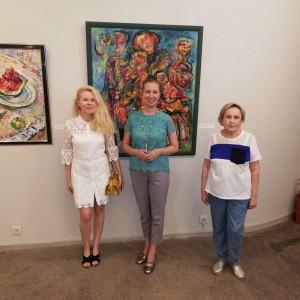Работа выставки, приуроченной к 70-летию художника, продлится до 3 августа 2020 года.