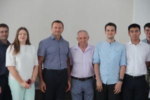 Сегодня Владимир Бирюков и Александр Стрелков вручили дипломы выпускникам профильной кафедры, первым стипендиатам РКС в Самаре.