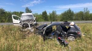 ДТП в Волжском районе возле Николаевки: четверо пострадавших