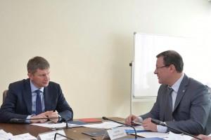 Особое внимание на встрече было уделено вопросам поддержки производителей автокомпонентов.