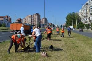 Тольяттинские предприятия озеленяют город