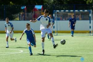 В Новокуйбышевске построена новая универсальная спортивная площадка