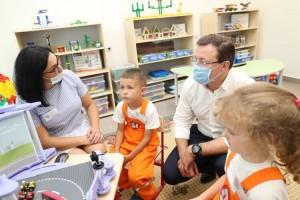 В Автозаводском районе Тольятти открылся новый корпус детского сада «Ладушки», который станет центром раннего математического развития юных тольяттинцев. Для этого сад укомплектовали эксклюзивным оборудованием.