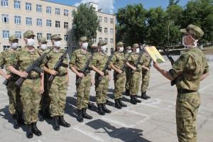 В Тольятти военнослужащие Росгвардии приняли присягу